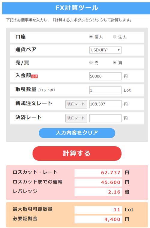 5万円からはじめるFX
